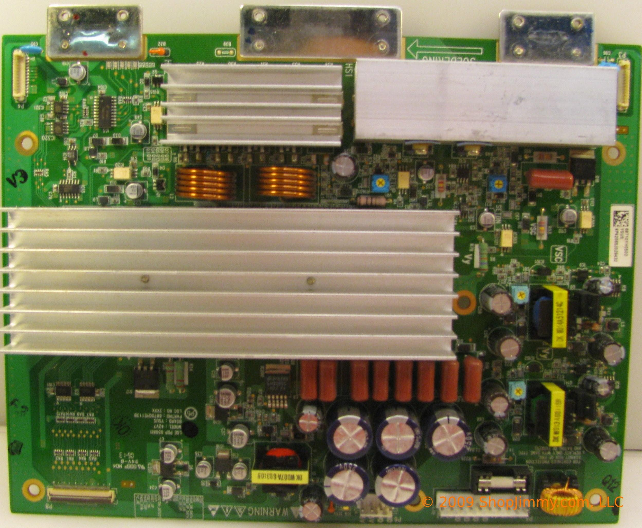 BOARD:Y, Part Number: 	6871QYH050D, 42V7 (0.00лв) BOARD:Y, Part Number: 	6871QYH