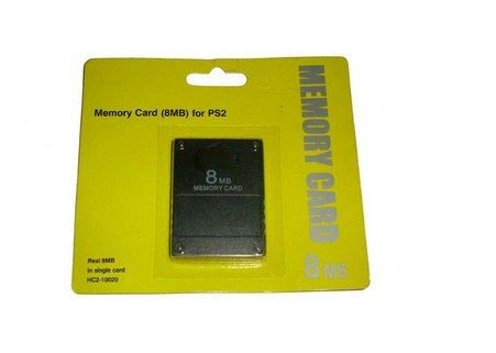 карта памет за PlayStation2 PS2 memory card 8MB (28.00лв) 8MB  memory card for PlayStati