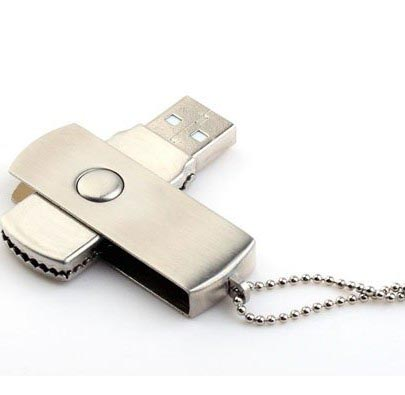Swivel Metal USB drive MU002 4GB (7.00лв) Swivel Metal USB drive MU002 4