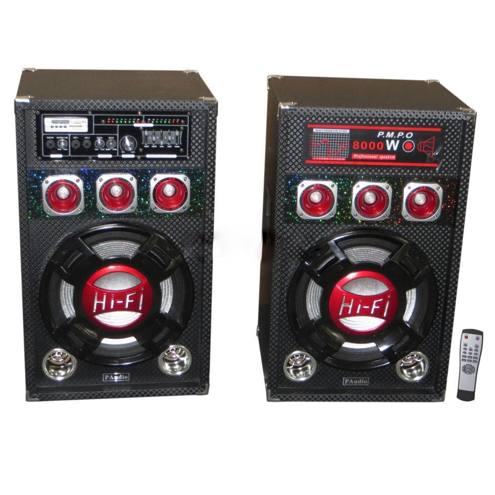 HOME SP PA-212BT2W FM/SD/2MIC/USB/RC