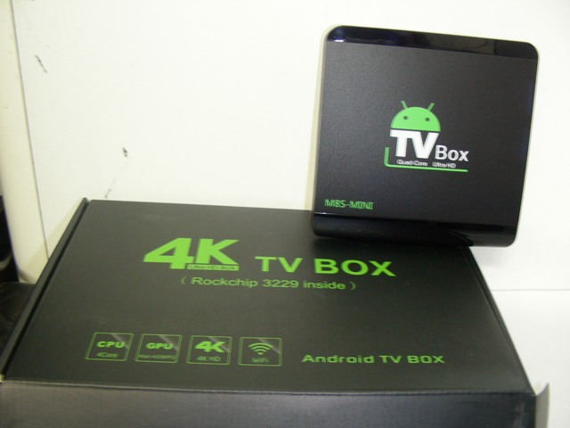 TV box M8S-mini (89.00лв) TV box M8S-mini quad core, 4K