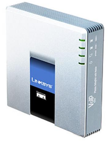 Linksys SPA2102-EU Single Port Router with 2 Phone Ports (0.00лв) Ready Voice Adapter Solution f